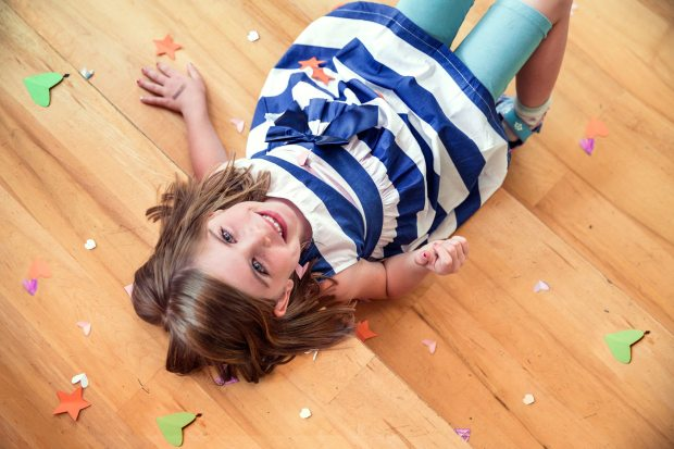 girl-wearing-white-and-black-stripe-dress-544981