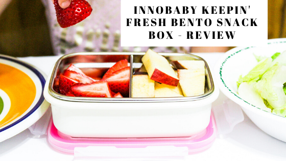 Innobaby Keepin' Fresh Bento Snack Box - Review