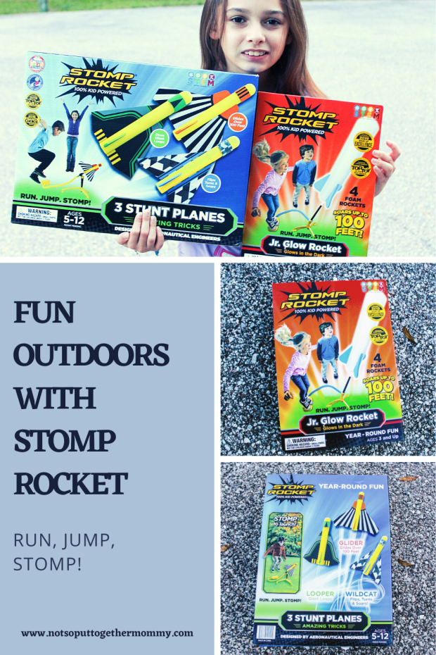 Fun Outdoors with stomp rocket (2)