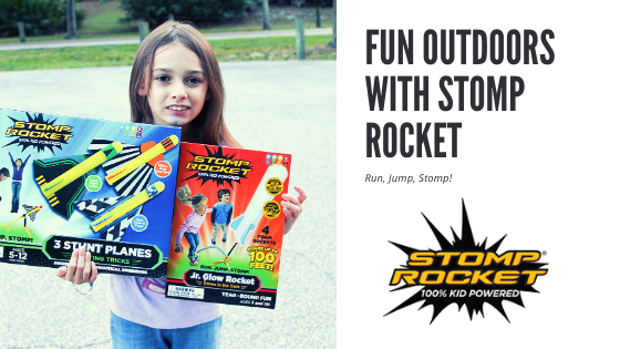 Fun Outdoors With Stomp Rocket